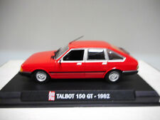 TALBOT 150 GT (CHRYSLER 150) 1982 AUTOPLUS IXO 1:43 HARD BOX