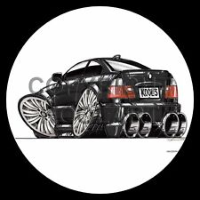 Koolart 4x4 4 x 4 Spare Wheel Graphic Bmw M3 Coupe Sticker 1900