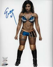 EMBER MOON WWE DIVA SIGNED AUTOGRAPH 8X10 PHOTO W/ PROOF WRESTLING INK