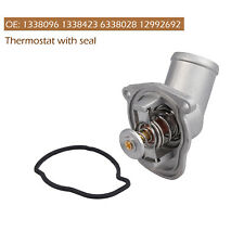 THERMOSTAT WITH HOUSING & SEAL FOR OPEL Astra G H Corsa B C D Meriva 1.0 1.2 1.4