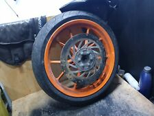 KTM rc 390 cc ABS Front wheel tyre rim  2015