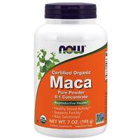 NOW Foods Maca Pure Powder, Organic, 7 oz.