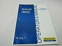 New Holland 780 GC cutter mower owners & maintenance manual