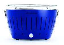 Lotusgrill Bleu Ultramarin Limité Sonderfarbe Barbecue à Charbon de Bois Table