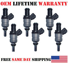 6x OEM Siemens Fuel Injectors for 2001-2006 BMW Z4-X3-Z3-330i-X5-530i 3.0L I6