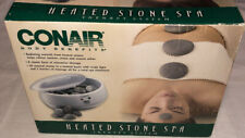 NEW Open Box Conair Body Benefits Heated Stone Spa Hot Rocks Therapy Kit HR10