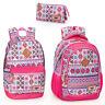 El Charro Pink Ethnic Rucksack Backpack Travel Work Holiday Laptop School Bag