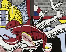Roy Lichtenstein Still Life With Lobster Canvas Print 16 x 20      #3928