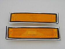 Front Side Marker Light PAIR 1981-1991 C/K1500 2500 TRUCK Suburban Sierra Blazer