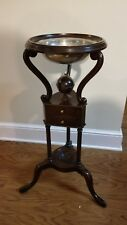 "Vintage  ""Old Dominion"" Wash Stand By Kittinger #OD2090 W/ Stieff Pewter Bowl"