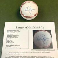 Mark McGwire Single Signed Baseball JSA COA #Z90553 100% Authentic