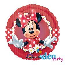 PALLONCINO mylar MINNIE diam. 45 cm, Addobbi Festa Compleanno Disney Topolina
