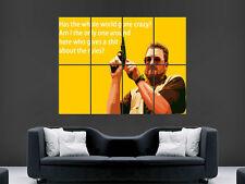 THE BIG LEBOWSKI MOVIE FILM TV CINEMA CLASSIC GUN WEAPON LARGE GIANT ART FANTASY