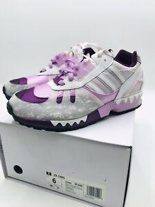 "Adidas ZX 7000 ""HeyTea"" A-ZX Originals Merlot FZ4401 Rare Sneakers New In Box"