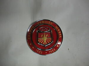 Ford Golden Jubilee NAA Tractor Hood Emblem - NEW FREE SHIPPING