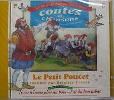 BRIGITTE FOSSEY (CD) LE PETIT POUCET - NEUF SCELLE
