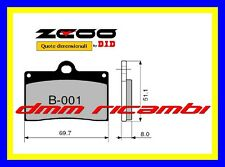 Pastiglie freno anteriori Racing ZCOO EX APRILIA RS 250 94>95 1994 1995 DID