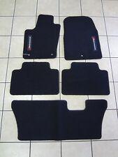 11-12 Dodge Durango New Premium Carpet Floor Mat Set of 5 Black Mopar Oem