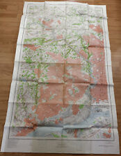 vintage map of Philadelphia 1:24000 dated 1956 4 ft by 6 ft