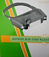 Head magnifying glass light magnifier 1.8X to 4.8X