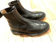 Trickers Henry Black Chelsea Boots UK6 Made In England