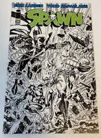Spawn #266 Erik Larsen B&W Variant Cover Todd McFarlane 2016 NM