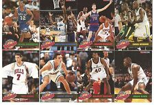 1993-94 Hoops Basketball Magic's All Rookie Team Complete Set Of 10 Cards