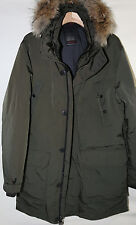 #5 TUMI Down Fill Coyote Fur Parka Coat Size L