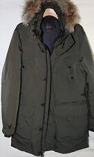 #5 TUMI Down Fill Coyote Fur Parka Coat Size L