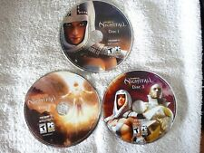 Guild Wars: Nightfall  PC Game CD-ROM, 3-disc...Excellent Condition!