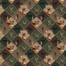 Deer Antler Hunting Hunter Camo Diamond Premium Roll Gift Wrap Wrapping Paper