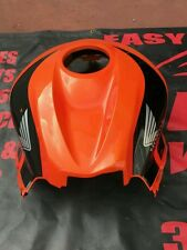 08-11 honda CBR 600RR orange and black tank cover #00002