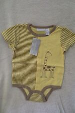 First Impression infant girl/Boy bodysuit size 12 Months Yellow Giraffe New
