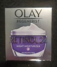Olay Regenerist Retinol 24 Night Moisturizer Fragrance-Free 1.7 oz New In Box