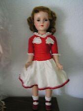 """Vintage 1950 Sweet Sue 18"""" Walker Doll AmericanCharacter All Original 1 Owner Ex"""