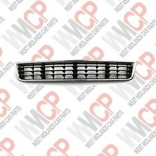 AUDI A4 (B6) 2000-2004 Front Bumper Lower Center GRILL WITH CHROME 8E0807647