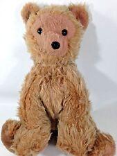 "Dakin Pillow Pets RARE Grizzly Bear Plush 14"" Sitting Stuffed Animal Teddy"