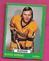 1973-74 OPC # 155 KINGS BUTCH GORING EX-MT CARD (INV# A9809)