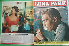 LUNA PARK 51/1961 UBALDO LAY SHERIDAN CATHERINE SPAAK SOFIA LOREN SAMY FREY