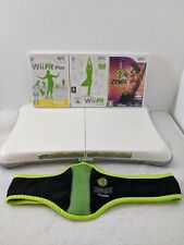 Wii Fit Board Bundle Wii Fit Plus Zumba Work Out Dance Exercise Fitness at Home