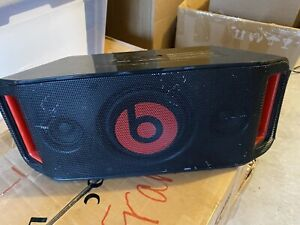 Beats BeatBox Red/Black