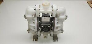 "SANDPIPER S07B1K1KPNS000 Air Powered Double Diaphragm Transfer Pump 1"""