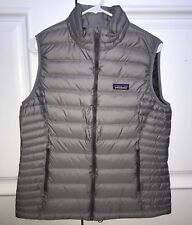 NWT Patagonia L Womens 800 Fill Down Sweater Vest Gray 84628 New