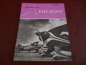 AIR BRITAIN DIGEST NOVEMBER 1969 COVER - PAIR OF PITTS SPECIALS N5891 & N9J