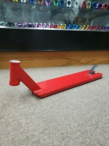 "TSI Sledge v3 Red 21.5"" Pro Scooter Deck (tilt apex envy proto district tsi)"