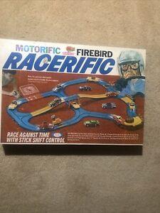 Vintage 1968 IDEAL TOY~MOTORIFIC FIREBIRD RACERIFIC Racetrack - FREE SHIPPING