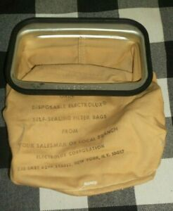 Vintage Electrolux Cloth Dust Bag for Vacuum Cleaner ~ Automatic E, F or G