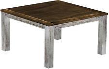 Esstisch Holz Pinie massiv 140 x 140 Platte Eiche antik  shabby kolonial Tische