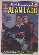 The Adventures of Alan Ladd #4 DC Comics 1950