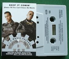 C & C Music Factory Keep it Comin' from Buffy S/T Cassette Tape Singl 00004000 e - Tested